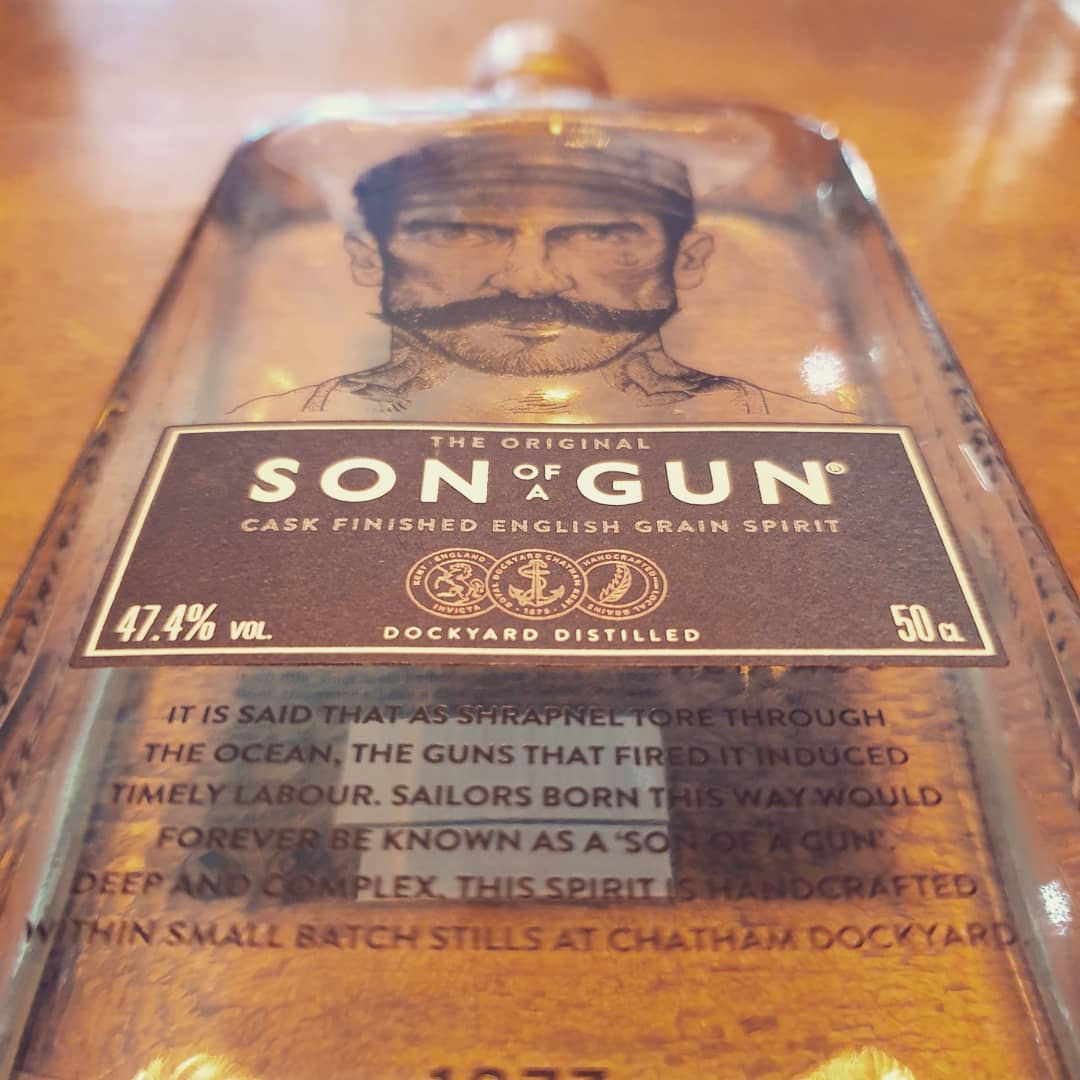Copper Rivet Distillery Son of a Gun Grain Spirit 50cl
